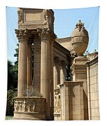 Colonnades Palaces Of Fine Arts Tapestry