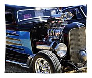 Color Chrome 1932 Black Ford Coupe Tapestry