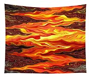 Color Fashion Waves Tapestry