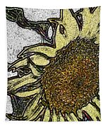 Color Me Sunflower Tapestry