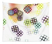 Color Of Your Window Tapestry