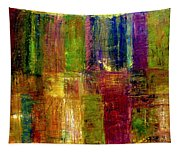 Color Panel Abstract Tapestry