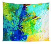 Color Wash Abstract Tapestry