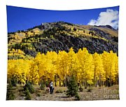Colorado Autumn Hike Tapestry