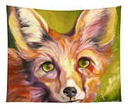 Colorado Fox Tapestry