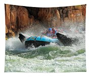 Colorado River Rafters Tapestry