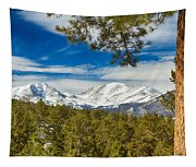 Colorado Rocky Mountain View Tapestry