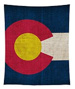 Colorado State Flag Tapestry by Pixel Chimp