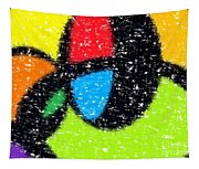 Colorful Abstract 5 Tapestry