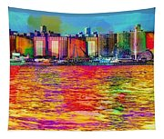 Colorful Coney Island Tapestry