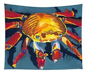 Colorful Crab Tapestry