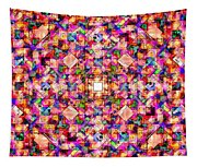 Colorful Digital Abstract Tapestry