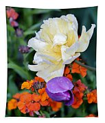 Colorful Flowers Tapestry