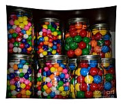 Colorful Gumballs Tapestry