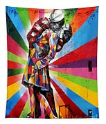 Colorful Kiss Tapestry