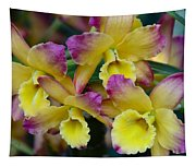Colorful Orchids Tapestry