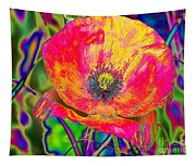 Colorful Poppy Tapestry