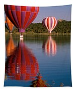Colorful Reflection Tapestry