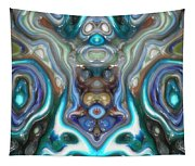 Colorful Reflections Of Glass Tapestry