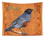 Colorful Songbirds 2 Tapestry