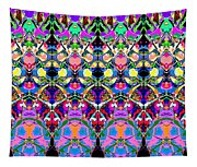 Colorful Symmetrical Abstract Tapestry