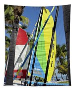Key West Sail Colors Tapestry