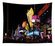 Colors Of Las Vegas Tapestry