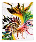 Colors Of Passion Tapestry
