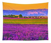 Colors Of Provence Tapestry
