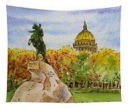 Colors Of Russia Monuments Of Saint Petersburg Tapestry