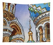 Colors Of Russia St Petersburg Cathedral II Tapestry