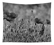 Colour Blind Poppies 2 Tapestry