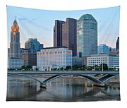 Columbus Panorama Tapestry