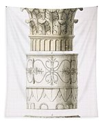 Column And Capital Tapestry