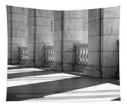Columns And Shadows Tapestry