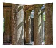 Columns At Cranes Tapestry
