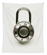 Combination Lock Tapestry