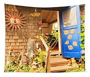 Come On In To A Mendocino Art Studio Tapestry
