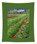 Come See Tulips  Tapestry