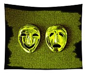 Comedy And Tragedy Masks 6 Tapestry