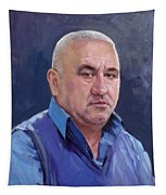 Commissioned Portrait Tapestry