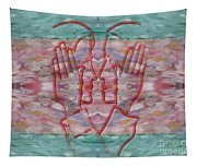 Communication Without Words Tapestry