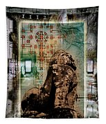 Composition Based On Angkor History Tapestry