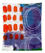 Concerto One - Abstract Art Tapestry