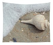 Conch Shell Vacation Tapestry