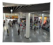 Concourse At People's Square Subway Station Shanghai China Tapestry