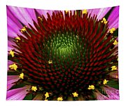 Coneflower - Little Yellow Spider Tapestry