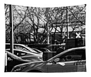 Confusing Commuter Reflections Tapestry