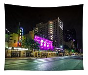 Congress Street In Downtown Austin Tapestry