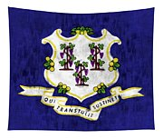 Connecticut Flag Tapestry